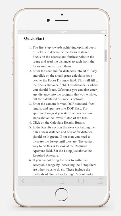 DOF Easy screenshot-4
