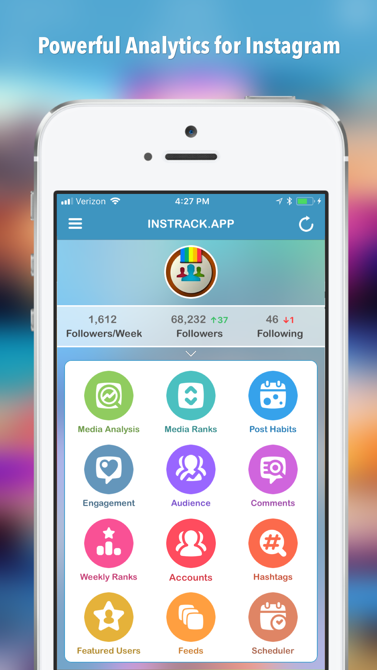 InsTrack for Instagram Screenshot