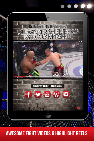 Скриншот из MMA Main Event Magazine