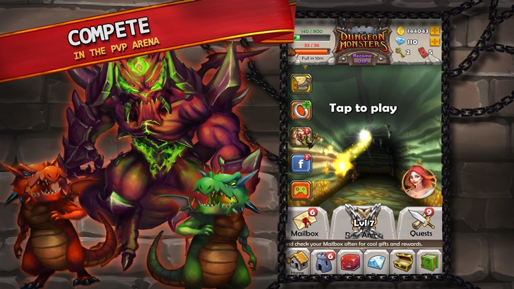 Dungeon Monsters - RPG screenshot-2