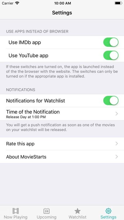 MovieStarts screenshot-7
