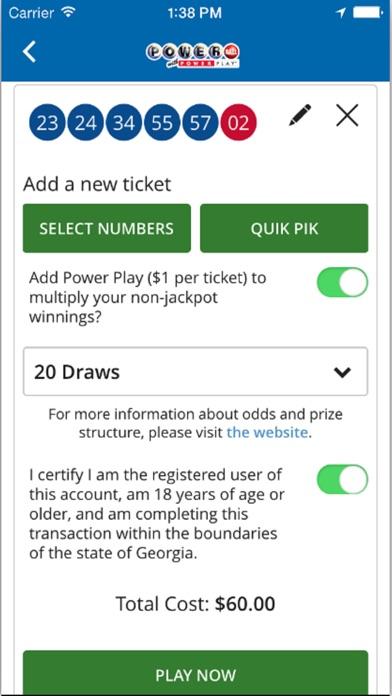 Georgia lottery cash 4 prizes for mega