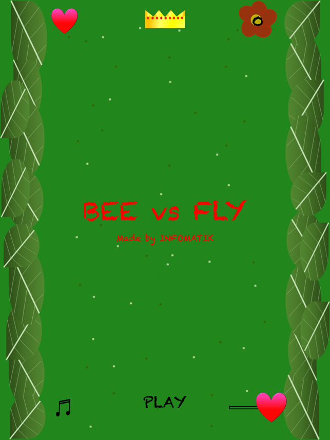 Bee vs Fly, game for IOS