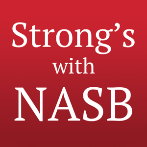 Strong's Concordance with NASB app