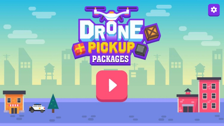 Drone Pickup Packages