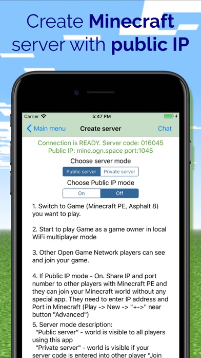multiplayer for minecraft app