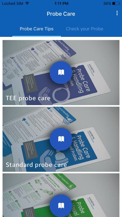 Probe Care screenshot one