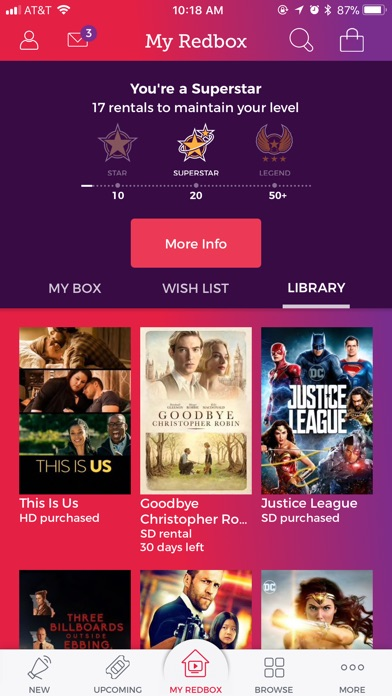 Redbox iPhone