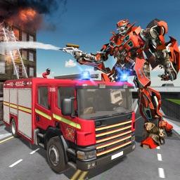 Firetruck Robot Transformation
