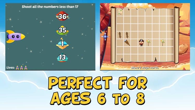 Second Grade Learning Games screenshot-3