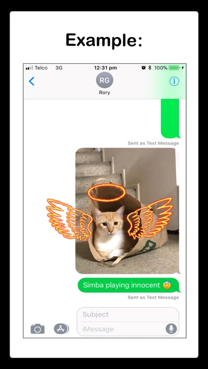 Sparkler Stickers for iMessage