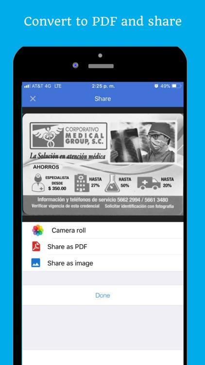 Document Scanner Photo to PDF screenshot-5