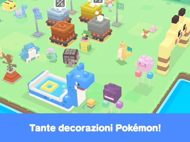 Pokémon Quest Screenshot