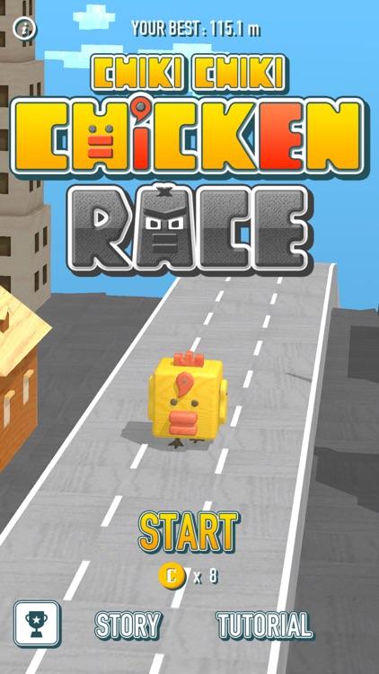 Chiki Chiki Chicken Race screenshot-0