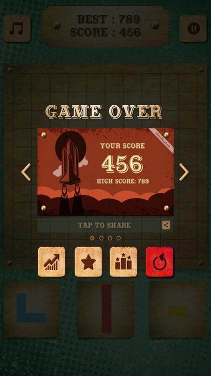 Retro Block Puzzle Game screenshot-4