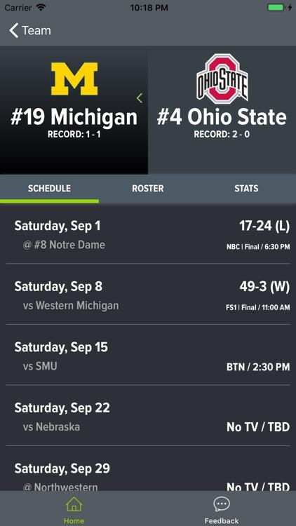 Ohio State Football 2018 screenshot-6