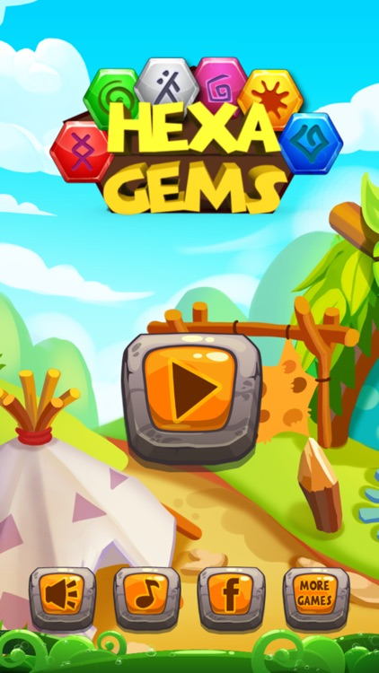 Hexa Rune Gems screenshot-0