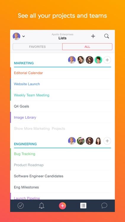 Asana: organize tasks & work screenshot-4