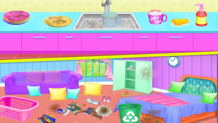 House Cleaning Game For Girls screenshot-2