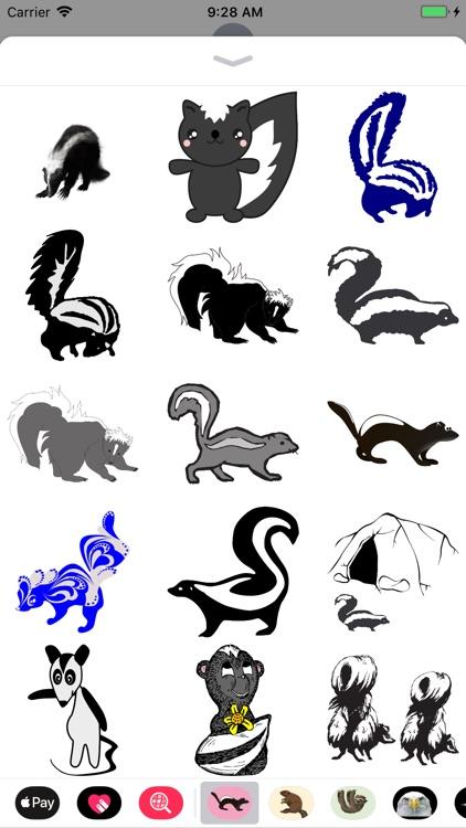 Sweet Skunk Stickers