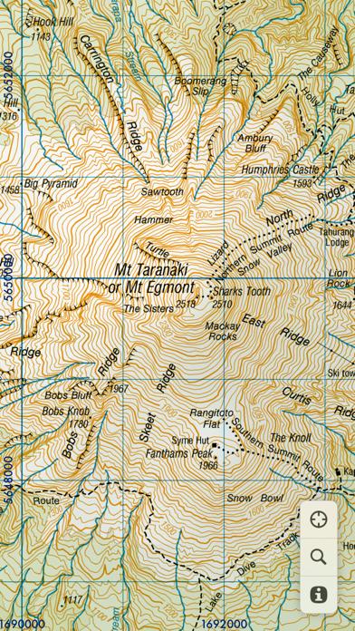 MapApp NZ North Island screenshot four