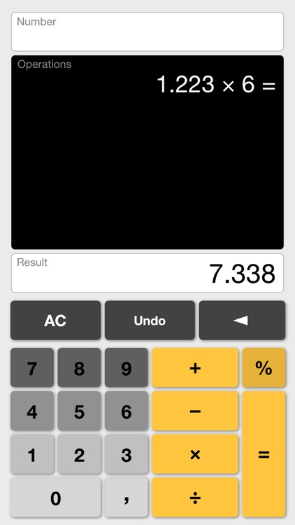 More or Less Calculator