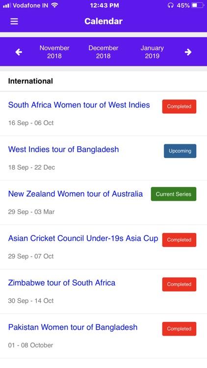 Live Cricket Score 2018 screenshot-8