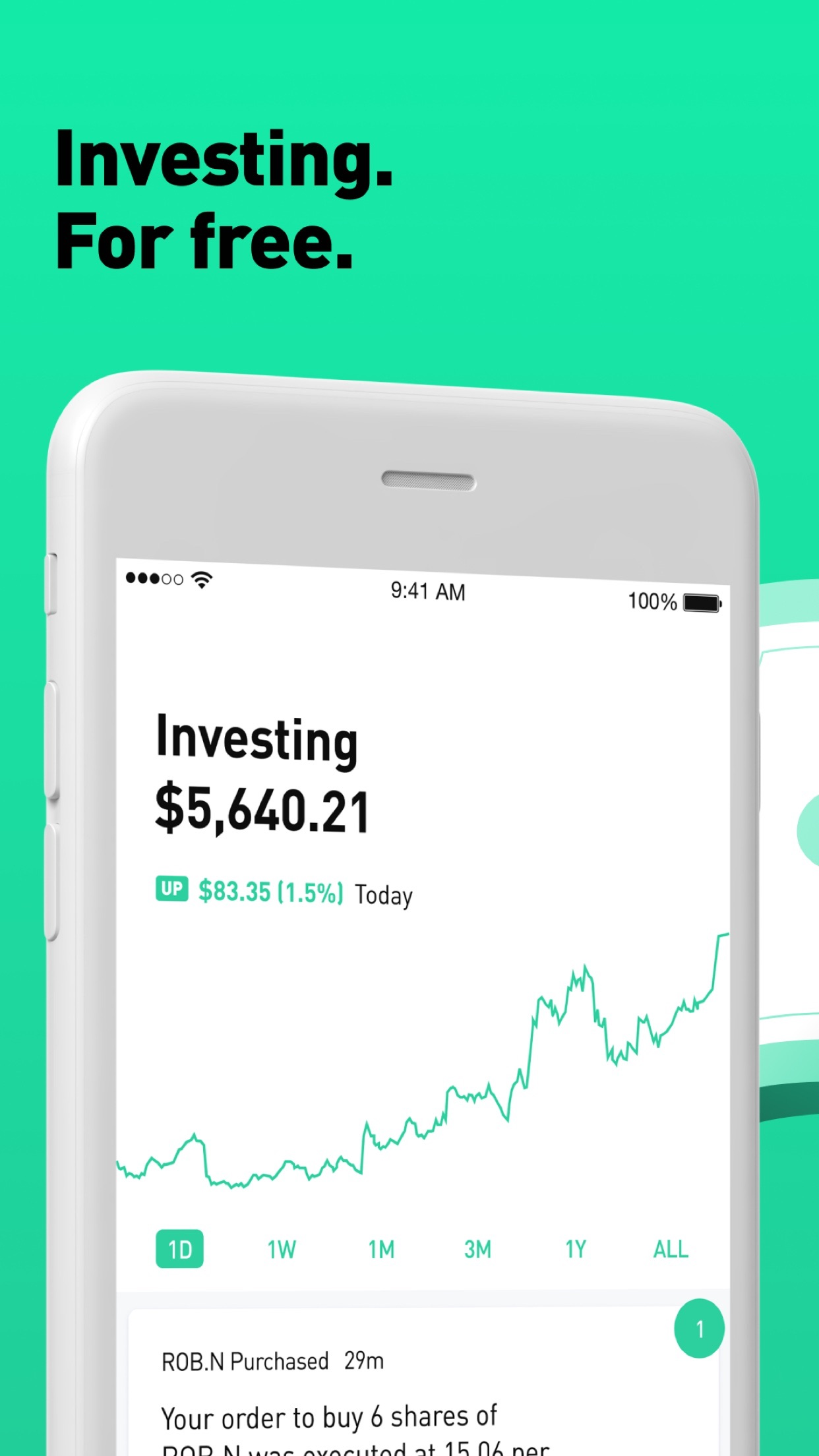 Robinhood: Invest. Buy. Trade. Screenshot