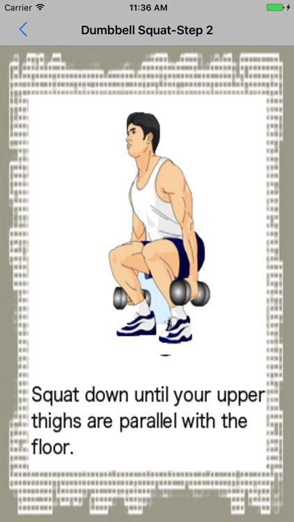 Dumbbell Exercises screenshot-3