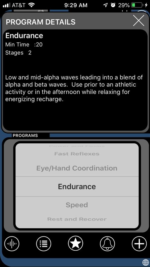 BrainWave Neuro Trainer App 截图