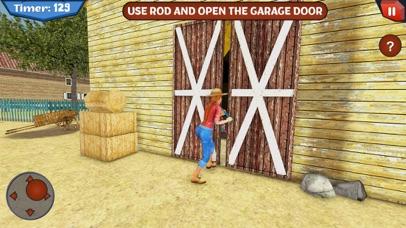 Scary Farmer in Horror House Screenshot on iOS
