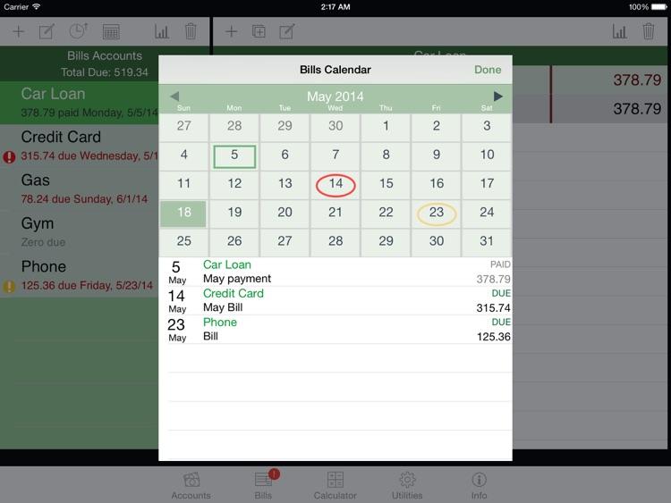 iCheckBalance for iPad screenshot-4