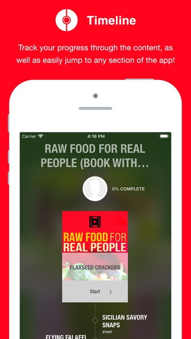 Screenshot for Raw Food - Video in Venezuela App Store