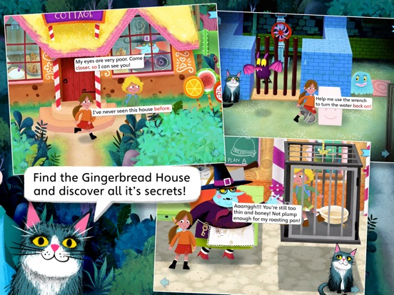 Hansel and Gretel by Nosy Crow screenshot 7