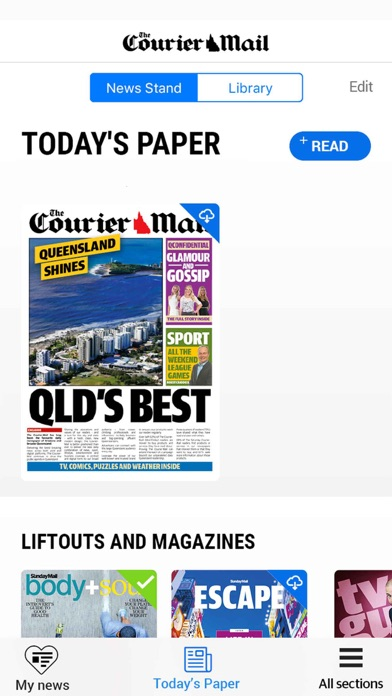 The Courier Mail review screenshots