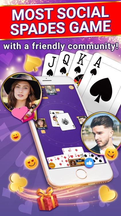 Spades Online - Card Game
