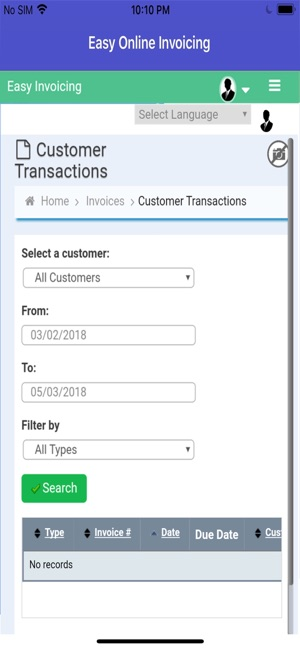 easy online invoicing on the app store