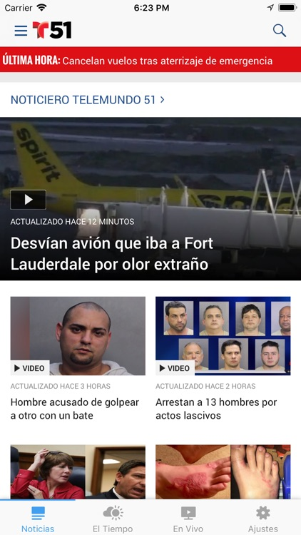 Telemundo 51 screenshot-0