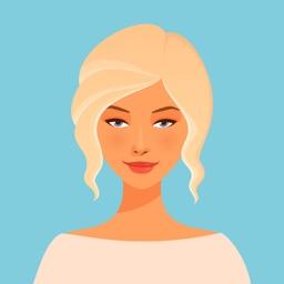 Hairstyle Stickers & Emoji