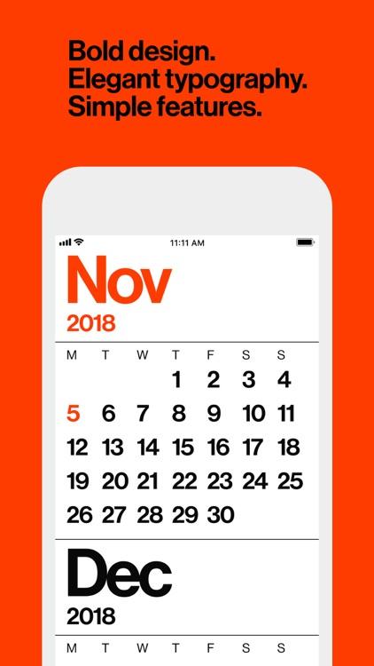 Minimal Calendar: Minimal Cal