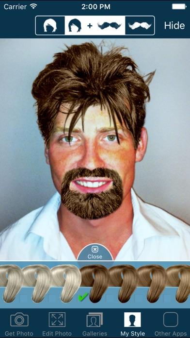 Hair and Beard Styles screenshot1