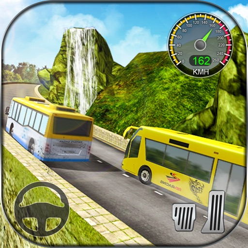 Hill Climb Bus Racing 3D