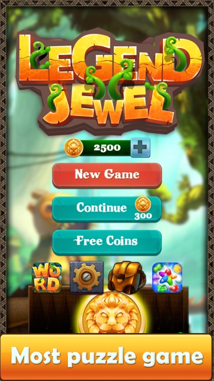 Legend & Jewels - Puzzle Quest screenshot-4