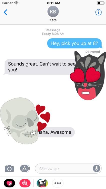 Hallows' Eve Stickers screenshot-3