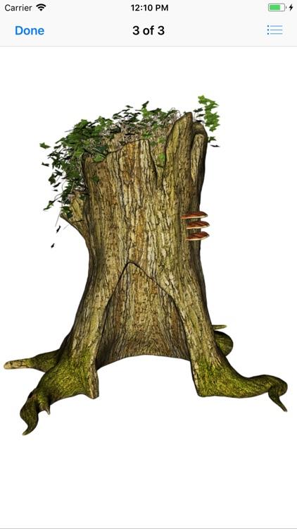 Tree Stump Stickers screenshot-3