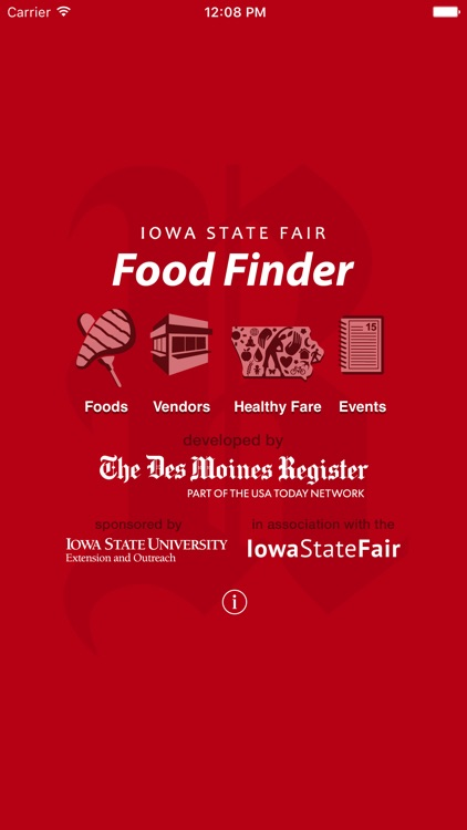 Iowa State Fair Food Finder
