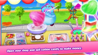 Fat Unicorn Cotton Candy Shop screenshot 3