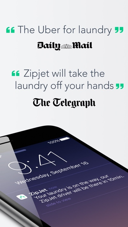 Zipjet » the Laundry App screenshot-0