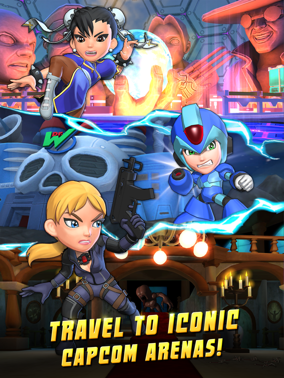 Screenshots of Puzzle Fighter for iPad