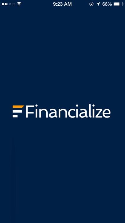 Financialize